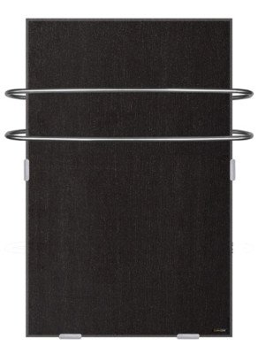 Slate Wall Heater with Towel Bars