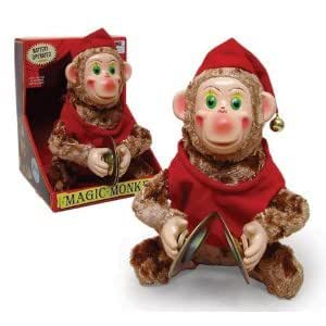 GIFTS AND GADGETS Educational Products - Classic Retro Style Magic Cymbal Monkey -