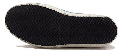 Golden Goose - Zapatillas de ante para mujer azul azul claro