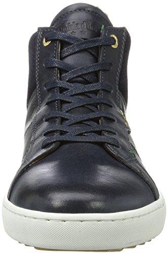 Pantofola Doro Herren Canaverse Uomo Mid Hohe Sneaker Blau (dress Blues)