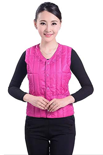 Down Women's Down Elastic YIHIGH Style Jacket Fashion Vest 01 with Waist Buckle Lightweight Outwear Warm Waistcoats Style dzUUxw