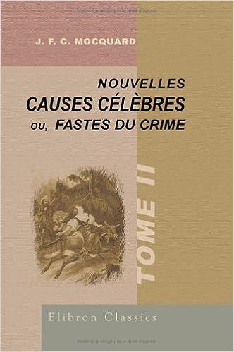 Téléchargement Nouvelles causes célèbres pdf, epub ebook