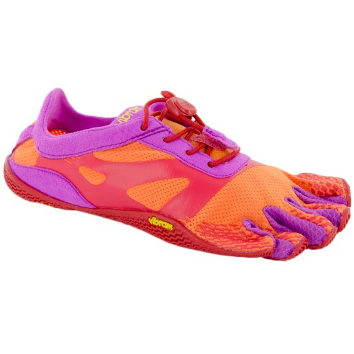 VIBRAM KSO EVO YOUTH ORANGE/RED UNISEX KIDS EXERCISE FITNESS SHOES Size 36M