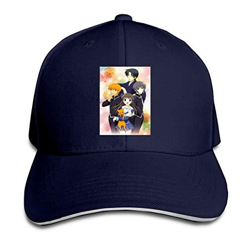 Jamychalsh Fruits Basket Adjustable Baseball Cap Funny Unisex Cool Lightweight Hat Navy