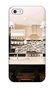 New Style ZippyDoritEduard Hard Case Cover For Iphone 5/5s- Eat-in Kitchen Island With Globe Pendant Lights