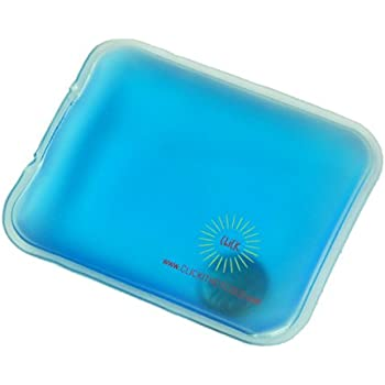 Click It Hot/Cold Reusable Gel Heating Pad (Pocket (Hand Warmer), Blue)