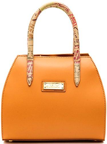 BORSA GUESS RAYNA HAND BAG LOGATA SG696209 TAUPE: Scarpe e borse