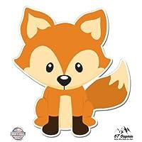 Cute Fox - Vinyl Sticker Waterproof Decal