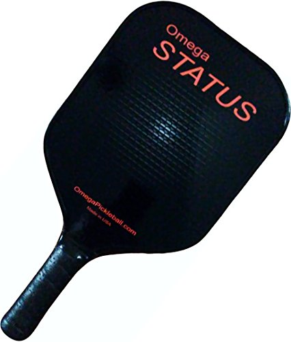 Omega (by Engage) Status Pickleball Paddle | Max-Control, Soft-Touch Core | Premium Grip | Super-Quiet Skin | USA-Made | 1-Year Warranty | FREE $30 Lifetime Upgrade To Any Engage Professional - Status Usa