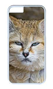 iPhone 6 Plus Case Color Works Barhayot Cat Sand Cat White PC Hard Case For Apple iPhone 6 Plus 5.5 Inch Phone Case