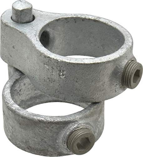 Malleable Iron Pipe Rail Fitting 1-1//2 Inch Pipe Kee 8 Pack