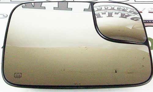 Oem Heated Glass (2005-2009 Dodge Ram 2500 3500 Power Tow Mirror Heated GLASS Passengers Side OEM)