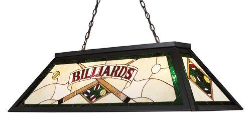 Elk 70083-4 Tiffany Game Room-Lighting 4-Light Billiard Light, 18-Inch, Tiffany Bronze Metal