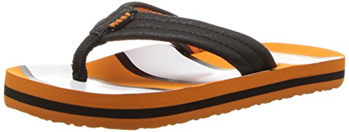 (Reef Boys' Ahi Sandal, Orange Fish, 2/3 M US Little Kid)