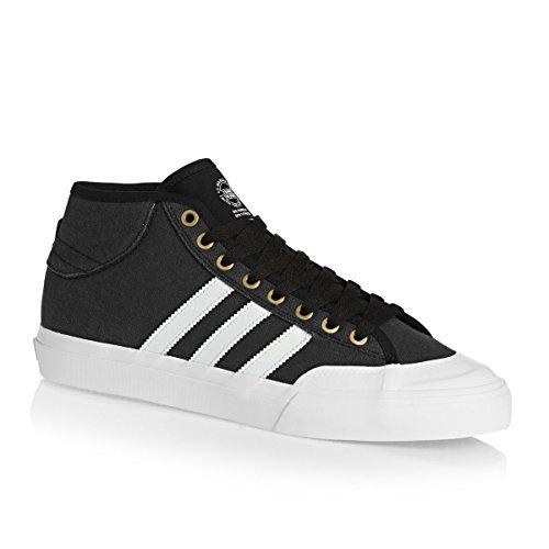 adidas Matchcourt Mid, Chaussures de Skateboard Homme, Noir