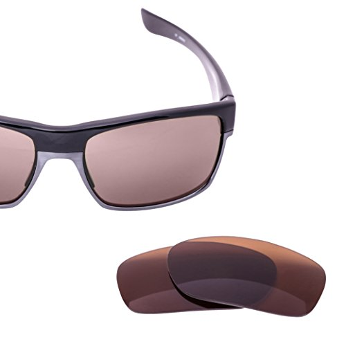 LenzFlip Replacement Lenses for Oakley TWOFACE Sunglasses- Brown Polarized - In Made Oakleys All Usa Are