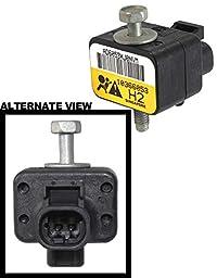 APDTY 112666 Airbag Impact Crash Sensor (Supplemental Restraint System Sensor) Fits 2008-2009 Hummer H2 (Front Sensor) (Replaces GM 10366053)
