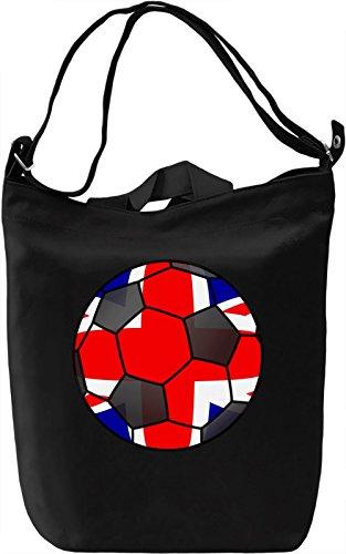 United Kingdom Football Borsa Giornaliera Canvas Canvas Day Bag| 100% Premium Cotton Canvas| DTG Printing|