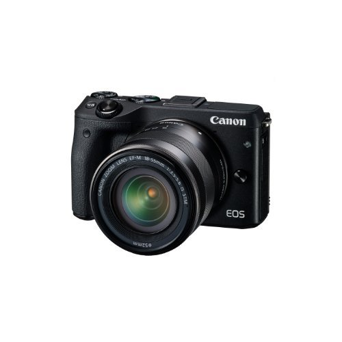 Canon EOS M3 with 18-55mm f/3.5-5.6 IS STM Lens (Black) - International Version (No Warranty)