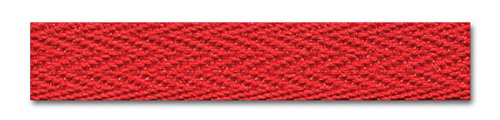 3/8 Inch Twill Tape 18 Yards (Red) (Tape Red Twill)