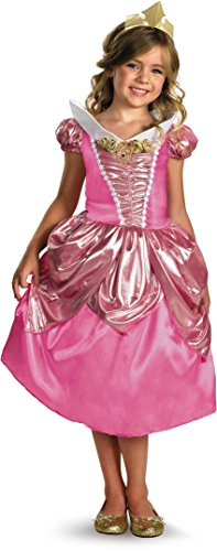 Aurora Shimmer Deluxe Costume - Small (4-6x)
