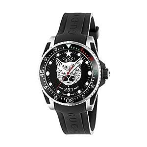 c409d2214dc Reloj Gucci Dive YA136320  Amazon.es  Relojes