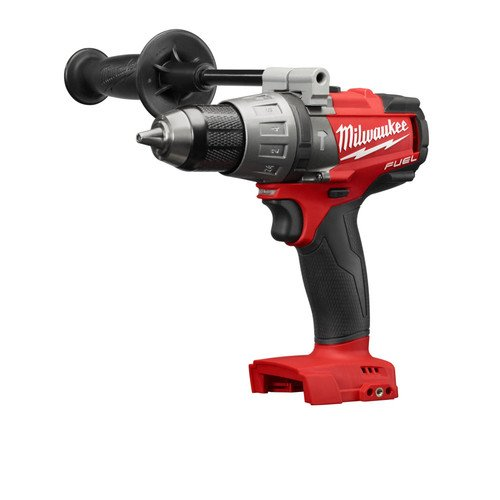 Milwaukee 2704-20 M18 FUEL 1/2″ Hammer Drill/Driver (Bare Tool)-Peak Torque = 1,200
