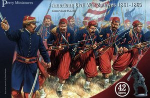 Perrys Miniatures Pmacw70 Perry Miniatures 28Mm - American Civil War Zouaves Model Soldiers from Perrys Miniatures