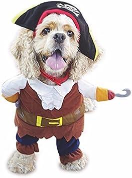 Disfraz de perro pirata de Nikgic, disfraz para mascotas, gatos ...