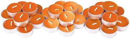 IKEA SINNLIG/ /Bougie parfum/ée orange//30/pack//30/pack Tangerine soleil