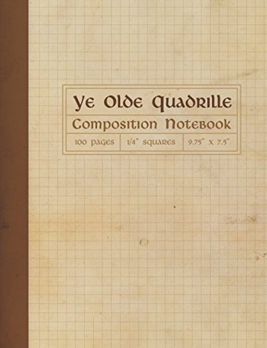 Pdf Money Ye Olde Quadrille Composition Notebook: Square Grid Graph Paper
