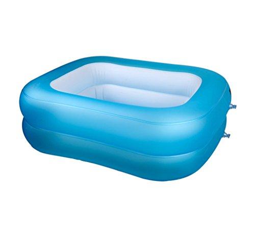 JPYG Bañera Inflable, Piscina para bebés Plegable Bebé doméstico Bañera 6-18 Meses Recién Nacidos Estanque de Pesca...