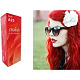Berina (A23) Permanent Hair Color Dye Bright Red Color : 1 Box