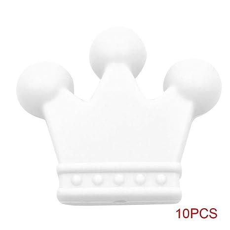 Gankmachine 10pcs / Set Teethers Cadena de Silicona bebé ...