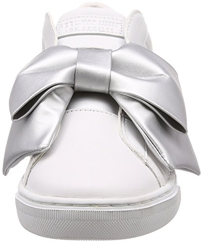 Bow Skechers Prima White Turnschuhe 73607WSL Little anFqwOf