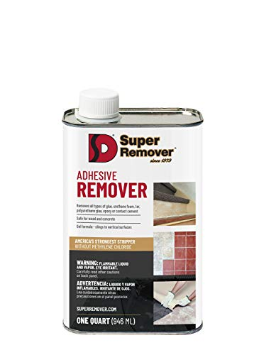Adhesive Stripper (Quart - 32oz) Super Remover
