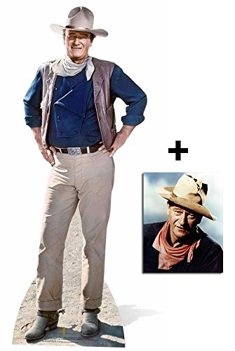 John Wayne Classic Pose Cardboard Stand Up Includes 8x10 Photo