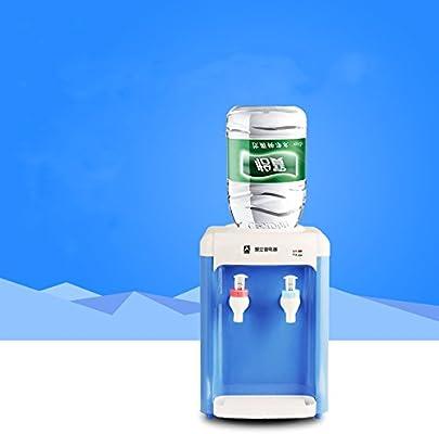 Fhynik Countertop dispensador de agua caliente fría Agua Mini escritorio habitaciones dispensador de agua