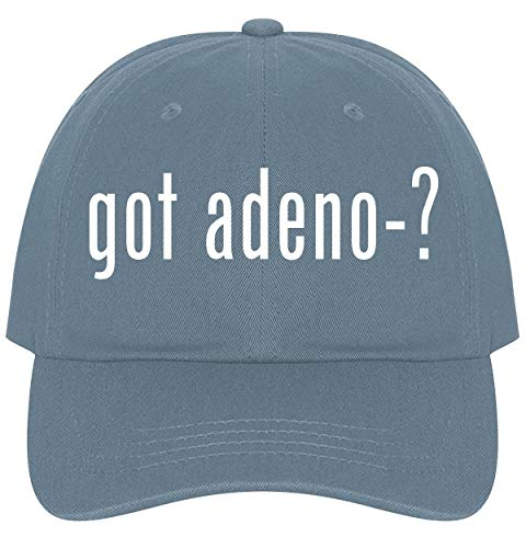 The Town Butler got Adeno-? - A Nice Comfortable Adjustable Dad Hat Cap, Light Blue, One Size ()