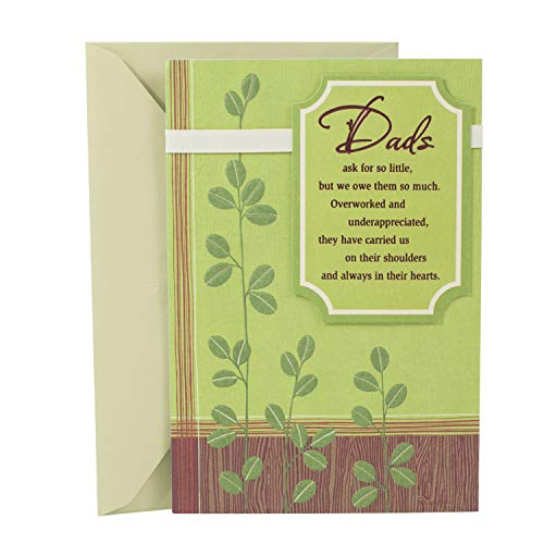 Hallmark Birthday Card for Dad (Loved and Appreciated) (Happy Birthday Cards For Father From Daughter)