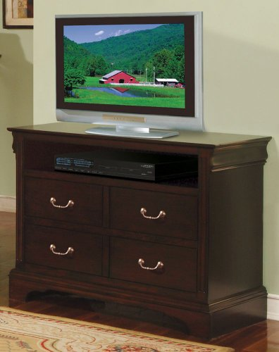 Renaissance TV Chest 4 Drawers (42 Inch Tv Chest)