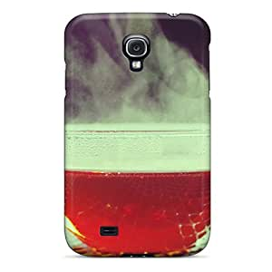 New Duk3187ZXLb Hot Black Tea Tpu Cover Case For Galaxy S4