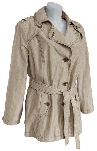 GELCO - Jacke (Trenchcoat), beige-braun, mit Gürtel Beige