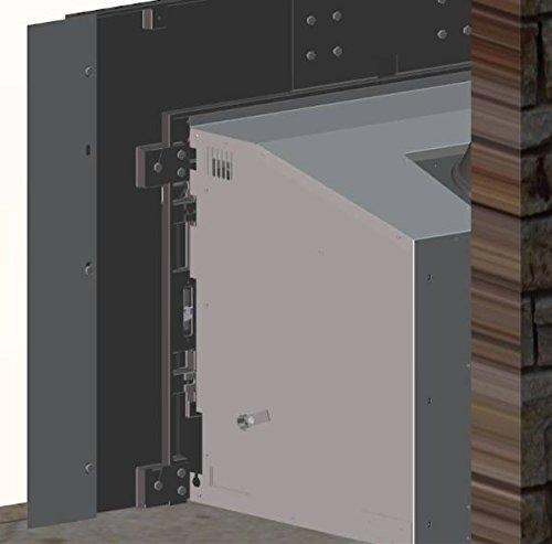 fireplace backer - 1