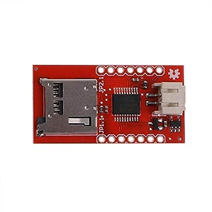 Audio Wtv020Sd Módulo de voz Tarjeta SD Módulo de voz Máquina de ...