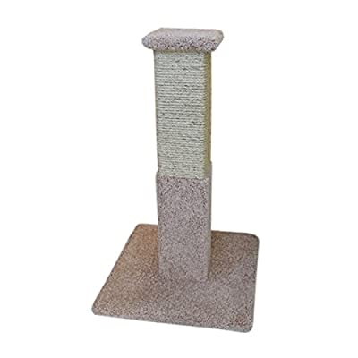New Cat Condos Premier Solid Wood Scratching Post from New Cat Condos -- DROPSHIP