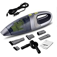 LEAJIA Car Vacuum Cleaner Wireless Rechargeable Car Household Wet and Dry with High Power