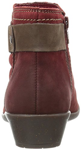 Rockport Cobb Hill Mujeres Nicole Ch Bota Red