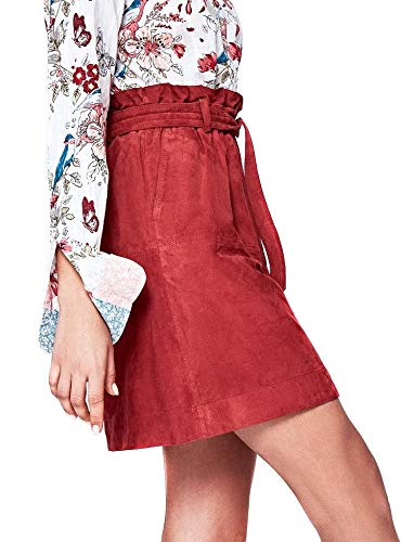 Granata Vivian Pepe Jeans Gonna Donna Rosso Leather HqUqFI