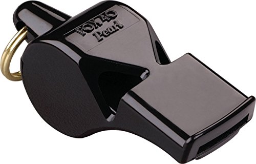 pearl safety whistle black